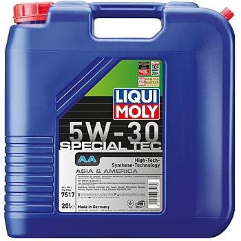 Liqui Moly Special Tec AA (Leichtlauf Special AA) 5W30 НС синтетическое моторное масло