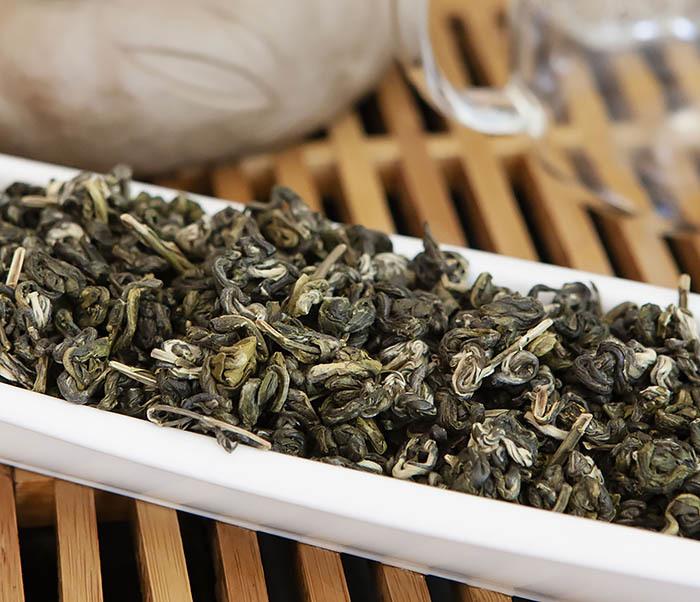 TEA-CH101 Зеленый чай «Изумрудные Спирали Весны» (Билочунь, Юньнань, 50 гр) фото 05