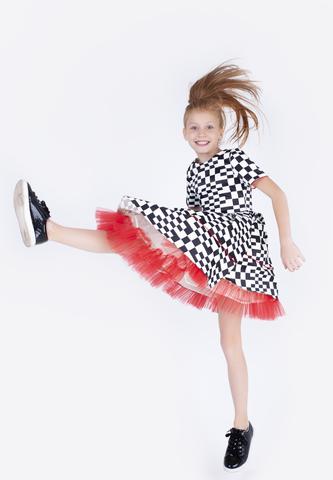 """Коктейльное платье """"Black & White"""""""