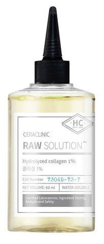Универсальная сыворотка КОЛЛАГЕН Raw Solution Hydrolyzed Collagen 1%, 60 мл CERACLINIC