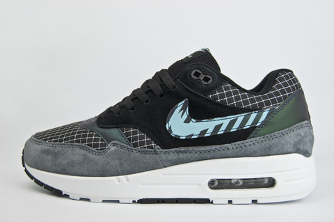 кроссовки Nike Air Max 1 Black / Grey