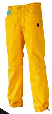 Брюки для скалолазания Hi-Gears The Cliff Pants Summer yellow (желтые)