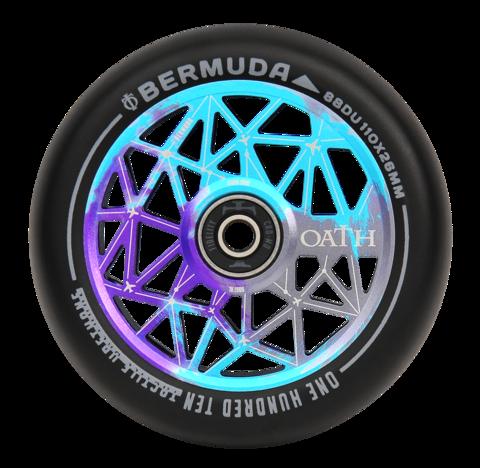 Колёса для самоката Oath Bermuda 110 пара (синий / фиолетовый)