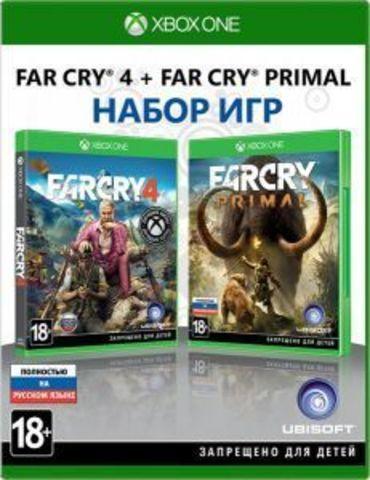 Far Cry 4 + Far Cry Primal Комплект игр (Xbox One/Series X, русская версия)
