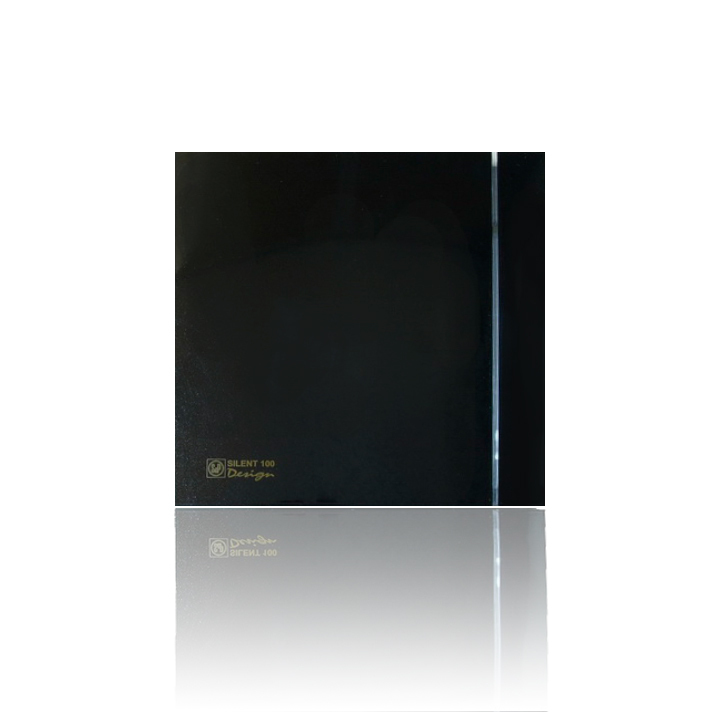 Silent Design series Накладной вентилятор Soler & Palau SILENT 100 CHZ DESIGN BLACK (датчик влажности) 002блек.jpeg