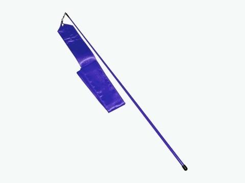 Лента гимнастическая. Цвет синий: АВ228