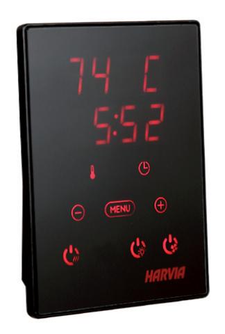 HARVIA Пульт управления в комплекте с блоком мощности Xenio CX110400C CX110C Combi для печей до 11 kW