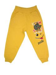 1407-2 брюки детские, горчичные