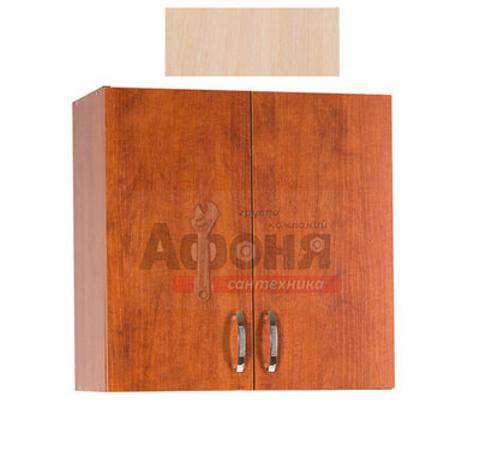 Шкаф для посуды 60 цвет дуб млечный (с сушкой) (ЛДСП)