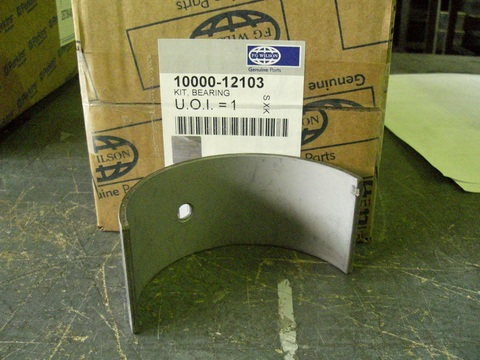Вкладыши шатунные, комплект на двигатель / KIT, BEARING АРТ: 10000-12103