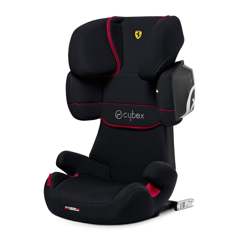 Автокресло 2/3 Cybex Solution X2-Fix FE Ferrari Victory Black