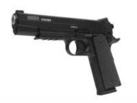 Пистолет пневматический Swiss Arms SA 1911 (Sig Arms GSR 1911) металл