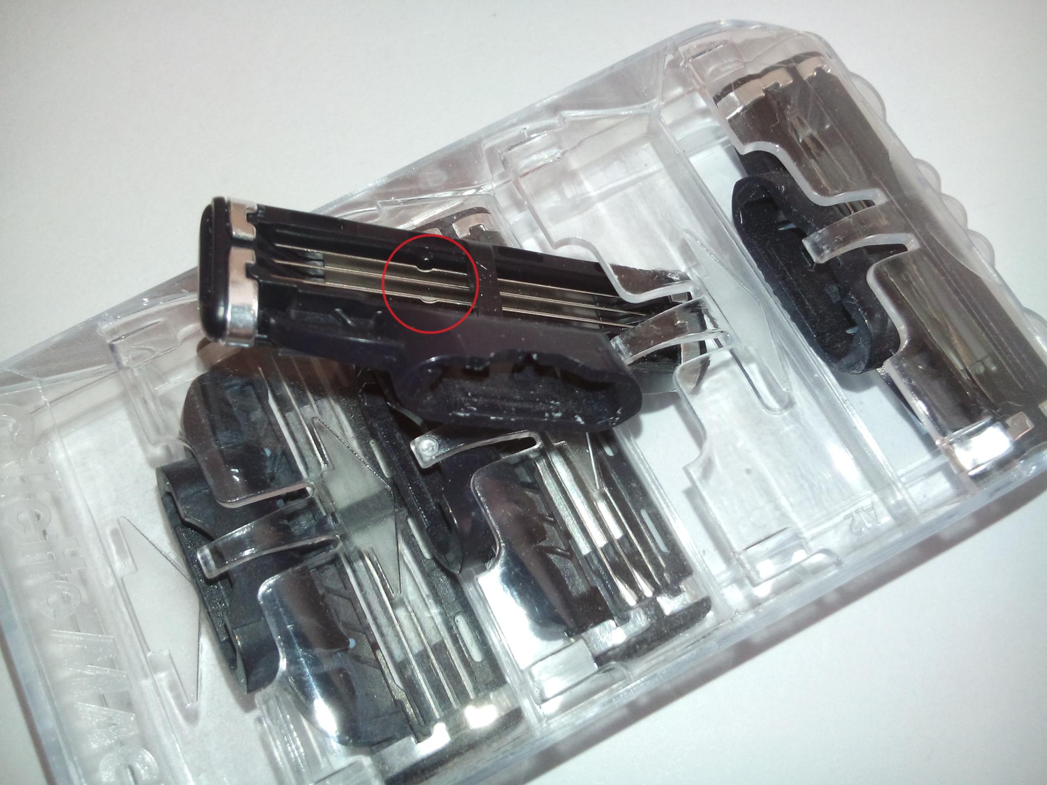 Лезвия для бритья Gillette MACH3 в экономной упаковке (4 лезвия)