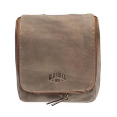 Несессер Klondike Blake, коричневый, 22х28х7,5 см, 4,6 л