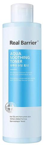 Купить Real Barrier Aqua Soothing Toner - Тонер для чувствительной кожи