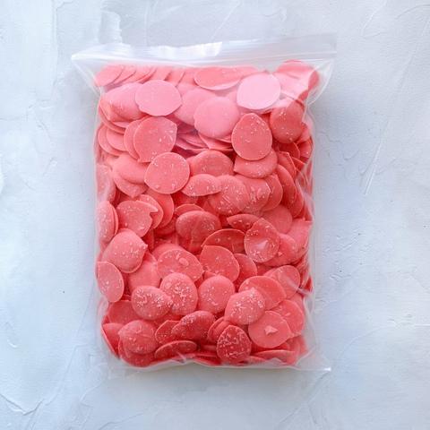 Глазурь кондитерская со вкусом клубники со сливками 1 кг