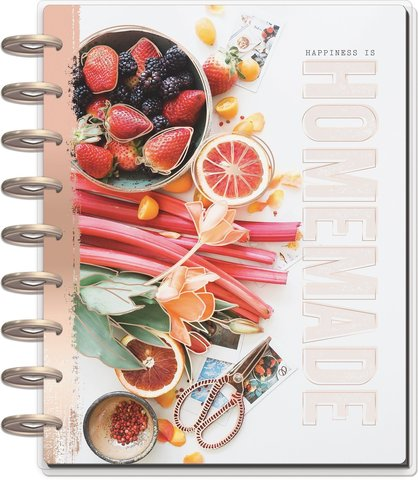 Книга для записи кулинарных рецептов Classic Happy Planner®- 19,3 х 24,3см. - Recipe Keeper - Undated