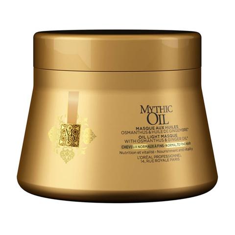 L'Oreal Professionnel Mythic Oil: Питательная маска для нормальных и тонких волос (Mythic Oil Masque Light), 200мл