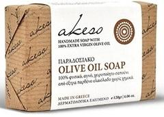 Мыло Akeso оливковое традиционное 120 гр