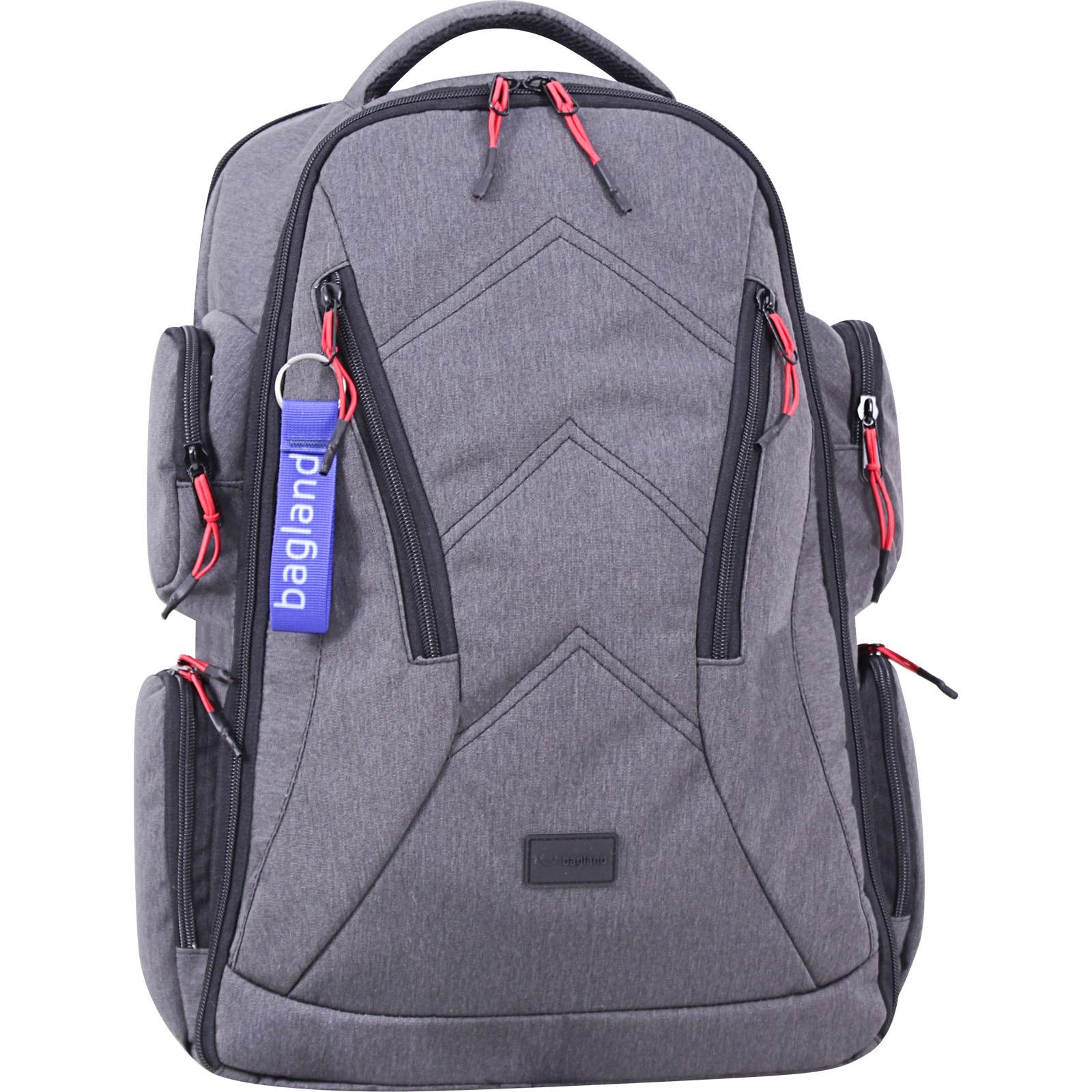 Мужские рюкзаки Рюкзак Bagland Штутгарт 36 л. Серый (0052569) IMG_7672-1600.jpg