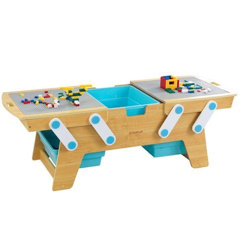 KidKraft Строительные блоки - игровой стол с системой хранения 17512_KE