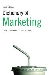 Dict of Marketing   PB 3Ed