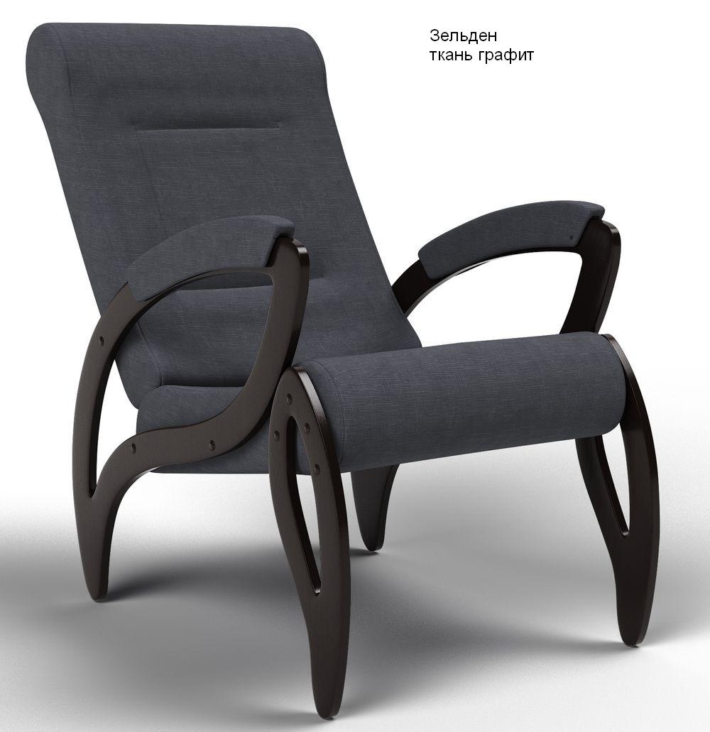 Кресла для отдыха Кресло Зельден Ткань зельден_графит.jpg