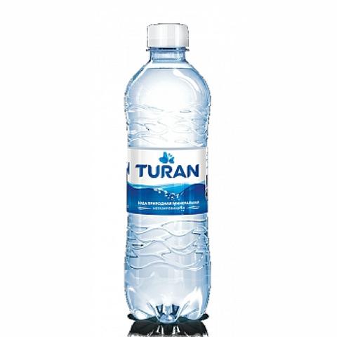 Вода минеральная TURAN б/газа 0,5 л пл/б КАЗАХСТАН