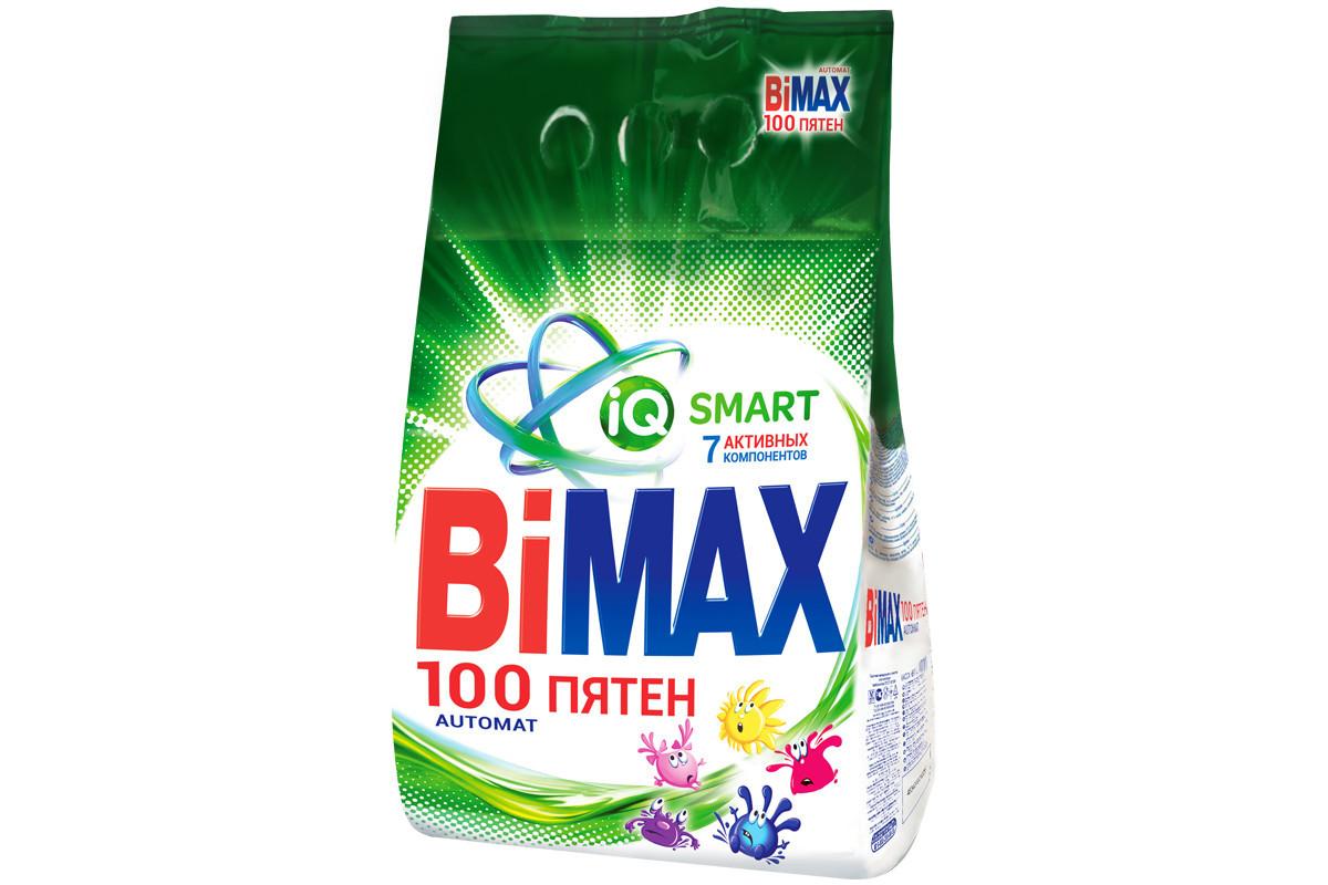 Стиральный порошок BiMAX 100 пятен 3 кг