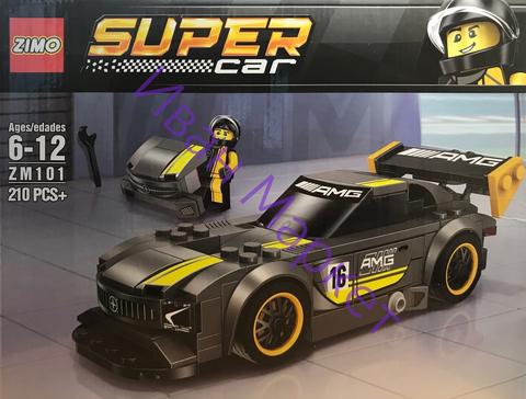 Супер Кар 101 Мерседес AMG GT3 210 дет Конструктор