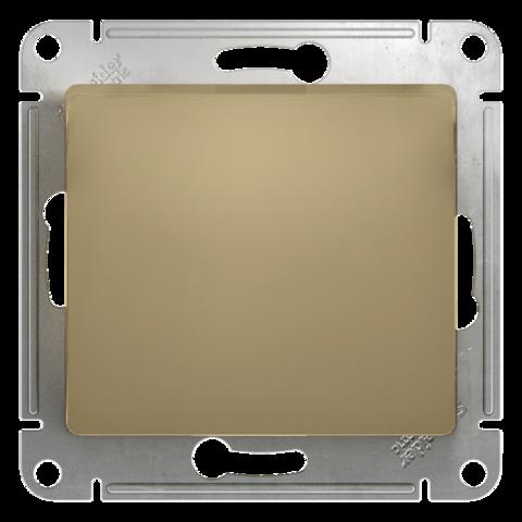 Кнопочный выключатель, 10АХ. Цвет Титан. Schneider Electric Glossa. GSL000415