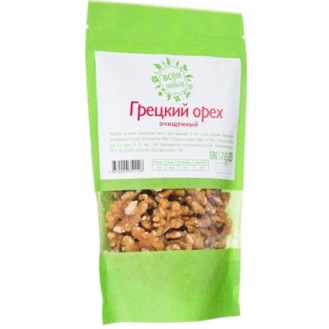 Всем на пользу грецкий орех 130 гр