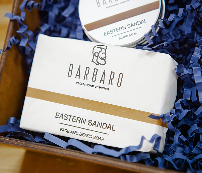 Набор средств Barbaro «Eastern Sandal» для ухода за лицом и бородой фото 02