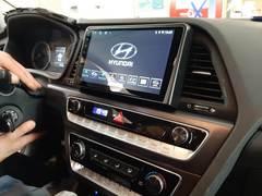 Магнитола для Hyundai Sonata (17-19) Android 10 6/128GB IPS DSP модель CB-3187TS10