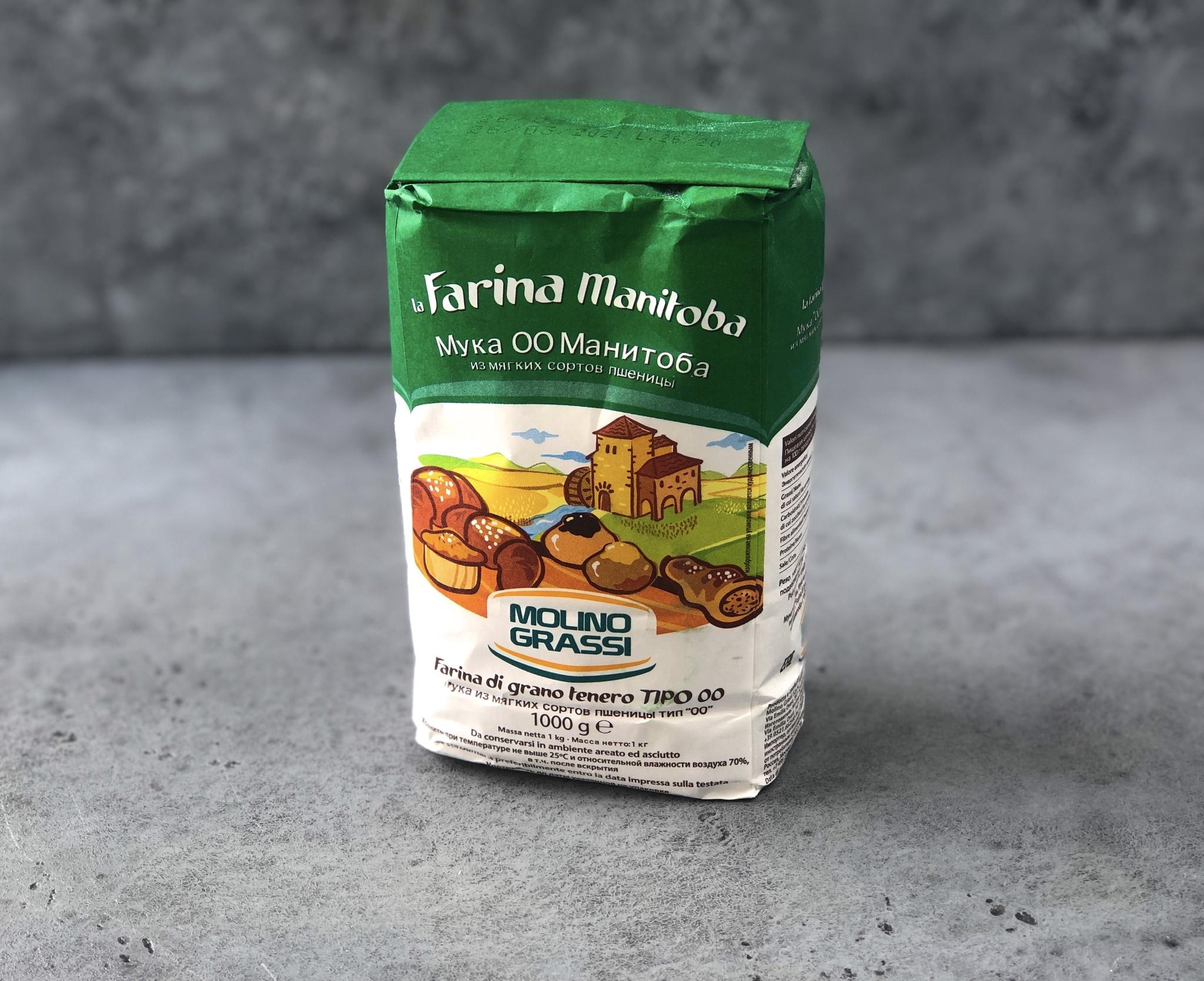 Мука для эклеров Molino Grassi Manitoba, 1 кг