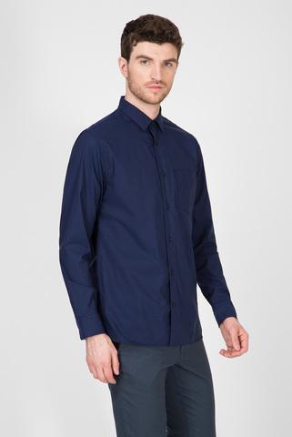 Мужская темно-синяя рубашка FLEX INDIGO FEEL DOBBY Tommy Hilfiger