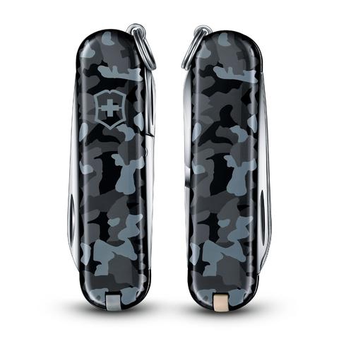 Нож Victorinox Classic, 58 мм, 7 функций, морской камуфляж123