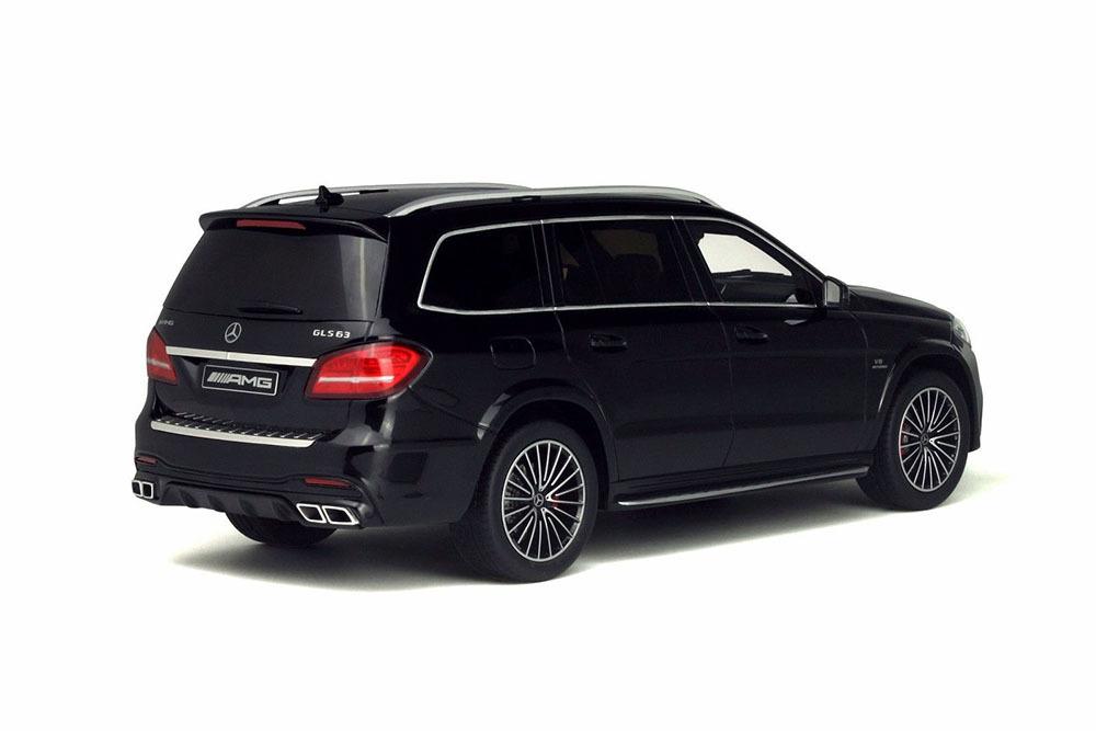 Коллекционная модель Mercedes-Benz GLS 63 AMG 2017 Black