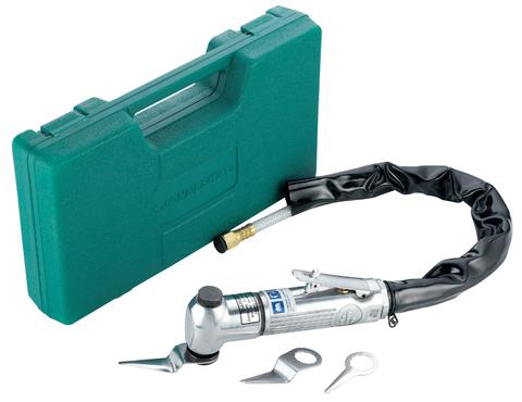 Набор: пневматический нож со сменными лезвиями, 4 предмета