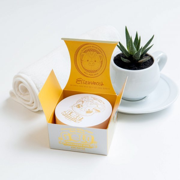 Elizavecca Gold Hyaluronic Acid Eye Patch Гидрогелевые патчи