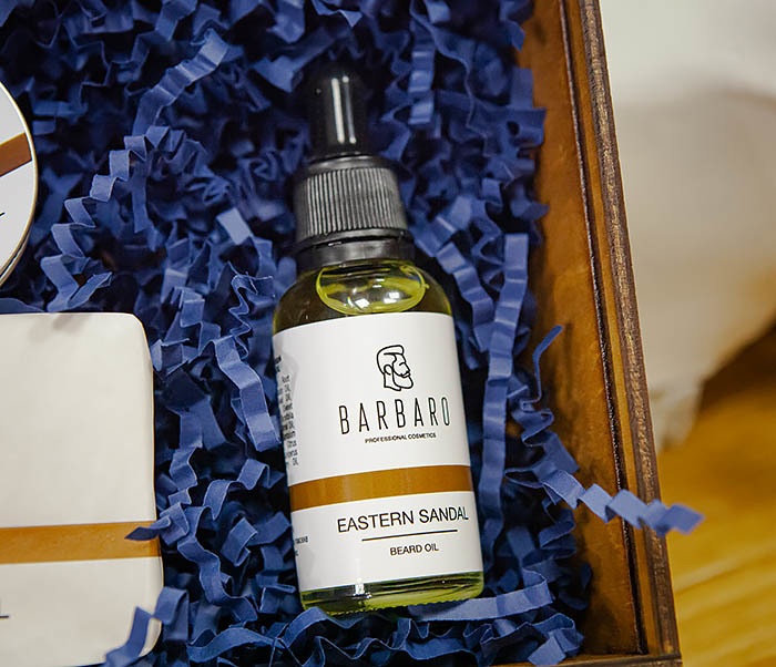 Набор средств Barbaro «Eastern Sandal» для ухода за лицом и бородой фото 04
