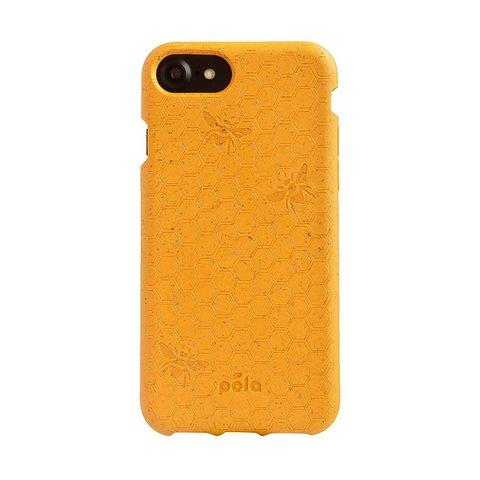 Чехол для телефона PELA IPhone 6/7/8 Bee Honey (горчичный с пчелами)