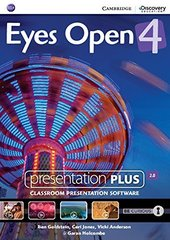 Eyes Open 4 Presentation Plus DVD-ROM