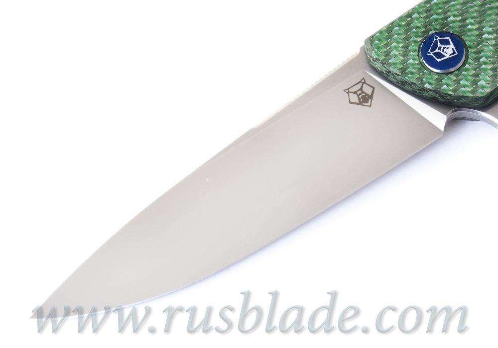 Shirogorov HATI-R M390  Alutex Green MRBS - фотография