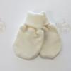 Тонкие рукавички из шерсти мериноса