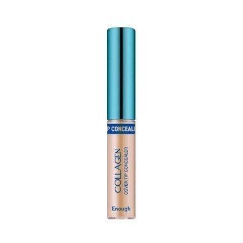 Enough Консилер для маскировки несовершенств Collagen Cover Tip Concealer 01 тон 9 гр.