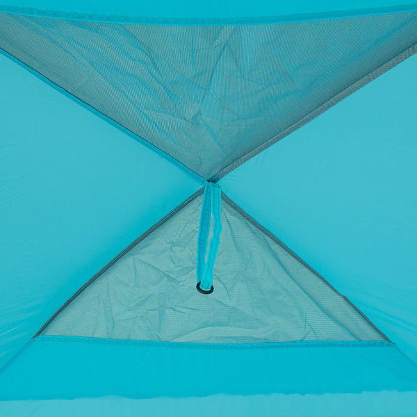 Шатер кемпинговый Green Glade Rodos, синий, 350х350х245 см
