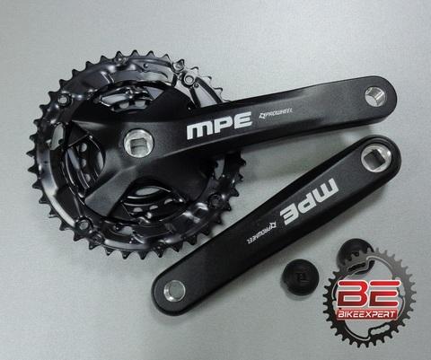 Система шатунов Prowheel MPE 901 40/30/22T 175мм черная