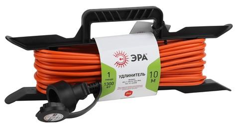 Удлинитель силовой Эра UFx-1гн 10м ПВС 2x0,75 б/з