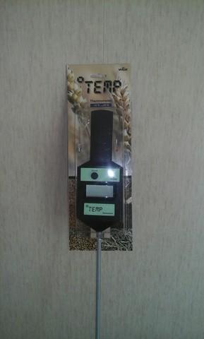 Измеритель температуры с цифровым дисплеем Wile Temp